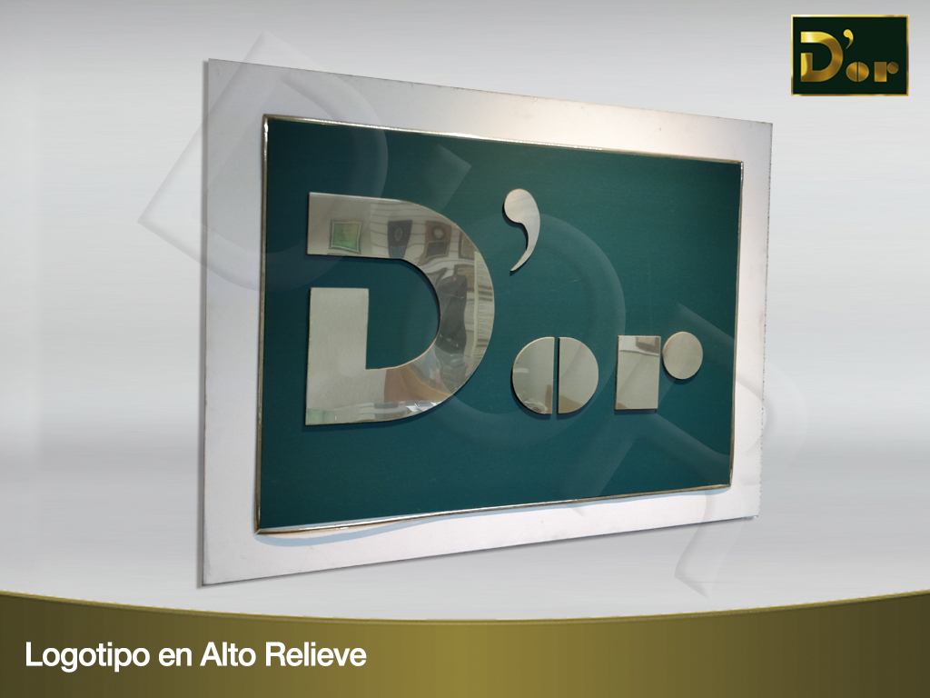 Logotipo Alto Relieve 1